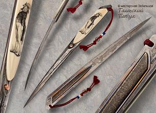 Нож Галльский петух
